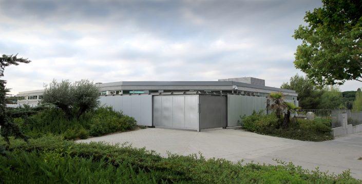 Edificio para la Brigada de Medio Ambiente. Pozuelo