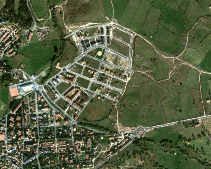 """Modificación puntual, Ordenación detallada, Proyecto de Actuación y Proyecto de Urbanización """"Marigarcía"""". El Espinar / Segovia"""