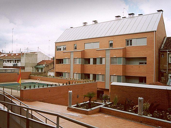 Edificio de 25 viviendas, trasteros y garaje. C/ Almansa y Aranjuez / Madrid