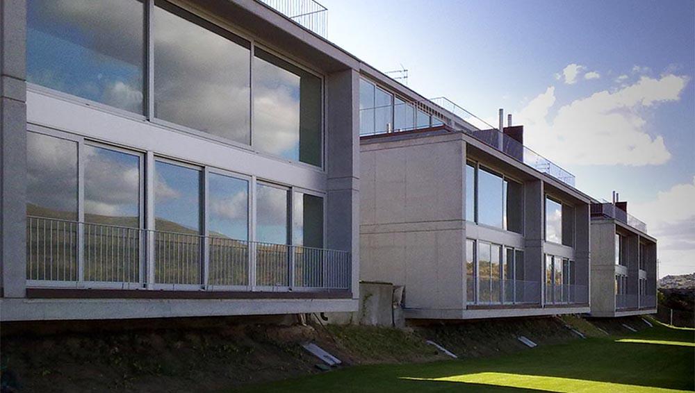 6 viviendas pareadas. El Espinar / Segovia