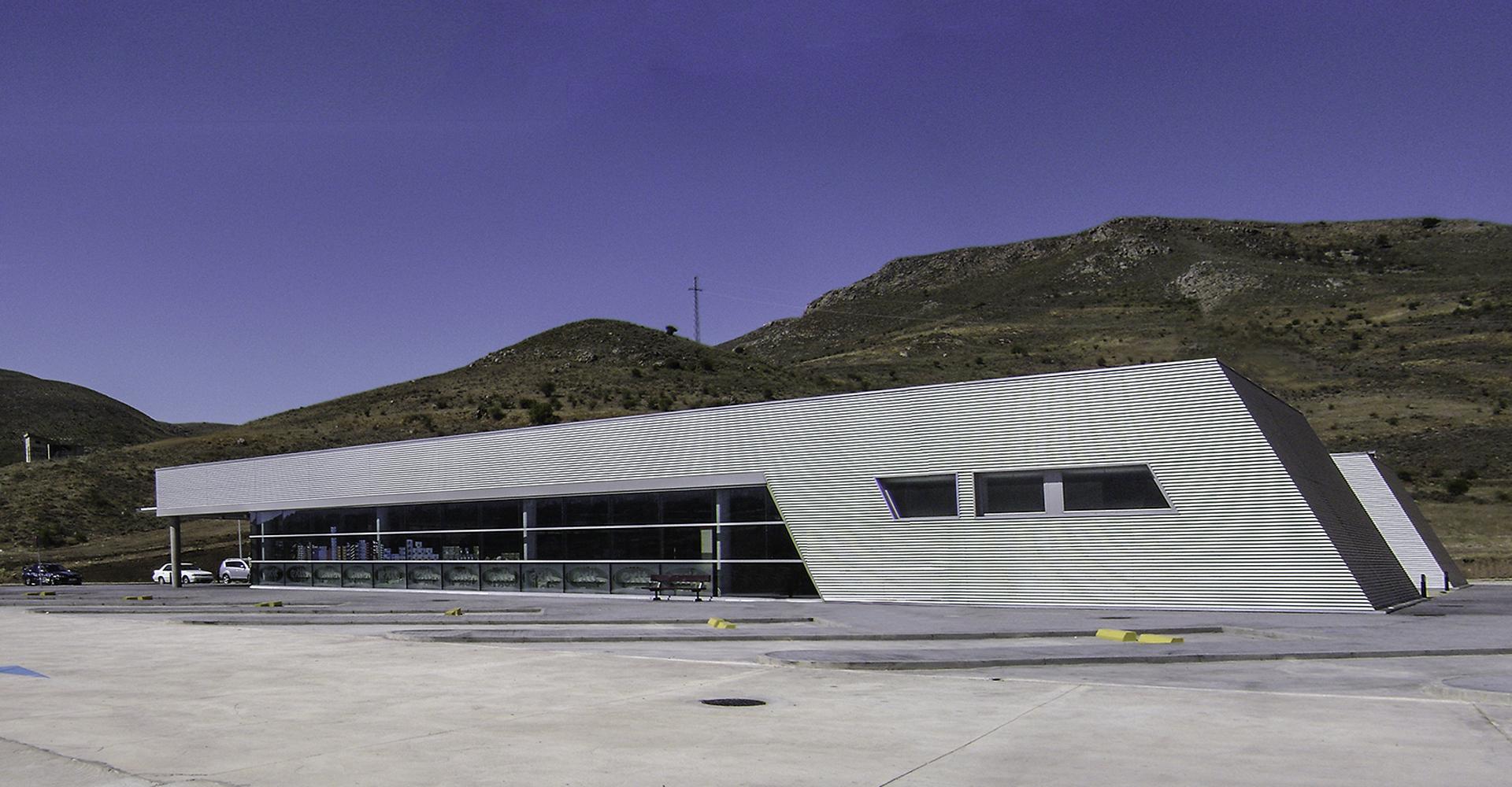 Área de Servicio Lodares. Soria