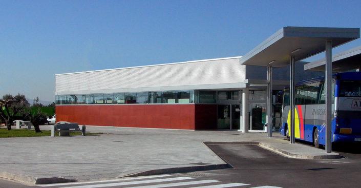 Area de Servicio L'Aldea. PROARQ - Arquitectos Madrid